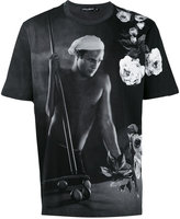 Dolce & Gabbana Marlon Brando print T-shirt - men - Cotton - 46