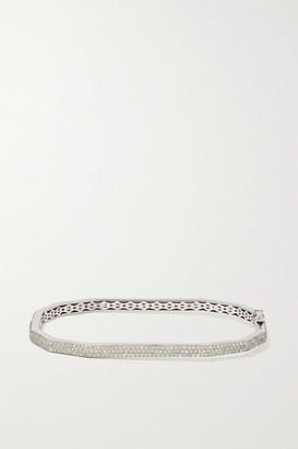 Ofira 18-karat White Gold Diamond Bracelet - one size