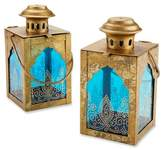 Kate Aspen 3ct Indian Jewel Lanterns Gold/Blue
