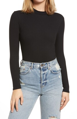 BP Mock Neck Bodysuit