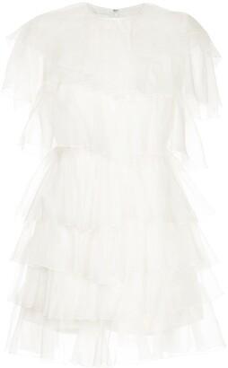 Giambattista Valli tiered mini dress
