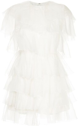 Giambattista Valli Tiered Mini Dress
