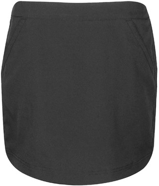 "PGA TOUR Women's 17"" Sunflux Solid Woven Skort with Comfort Stretch"
