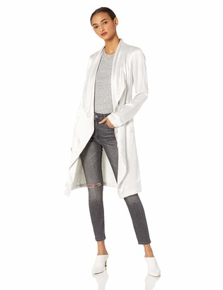 Cupcakes And Cashmere Women's Yoko Satin Drape Front Trench
