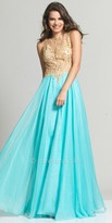 Dave and Johnny Jasmine Cutout Back Prom Dress