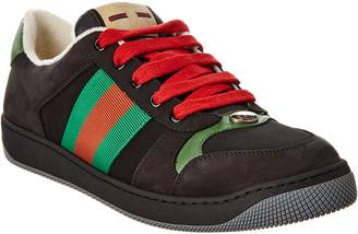 Gucci Screener Suede Sneaker