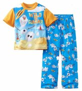 "Disney Frozen Little Boys' ""Wild for Summer"" 2-Piece Pajamas"