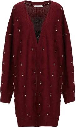 Jonathan Simkhai Burgundy Wool Knitwear