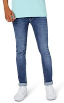 Topman Men's Spray-On Skinny Fit Jeans