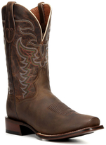 Dan Post Brown Distressed Duncan Leather Cowboy Boot - Men
