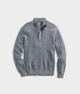 Vineyard Vines Oxbridge Wool 1/2 Zip Sweater