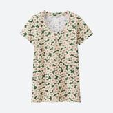 Uniqlo WOMEN HAIBARA Short Sleeve Graphic T-Shirt