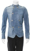 Dolce & Gabbana Double-Breasted Chambray Jacket