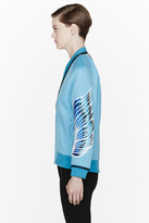 3.1 Phillip Lim Blue Phoenix Embroidered Bomber Jacket