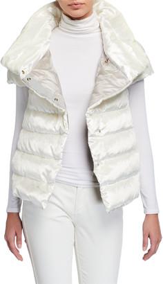 Herno Short High-Collar Puffer Coat