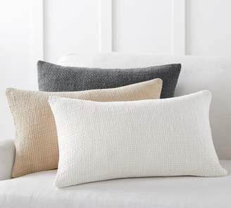 Pottery Barn Dylan Textured Lumbar Pillow Covers