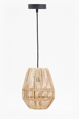 French Connection Rattan Pendant Light