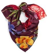 Echo Women's Baroque Botanical Silk Scarf