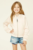 Forever 21 FOREVER 21+ Girls Varsity Jacket (Kids)