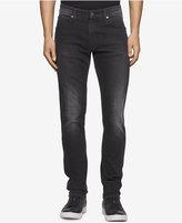 Calvin Klein Jeans Men's Sculpted Metal Black Jeans