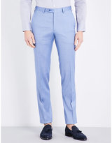 Brioni Megeve Wool And Silk-blend Trousers