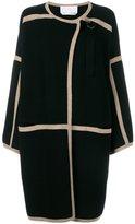 Chloé contrast trim coat - women - Cashmere/Wool - L