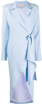 MATÉRIEL wrap blazer dress