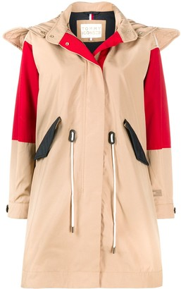 Tommy Hilfiger Colour-Block Trench Coat