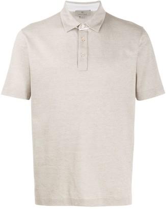 Canali Short-Sleeve Polo Shirt