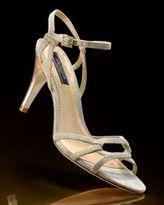 Ann Taylor Champagne Metallic Sandal