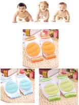 Luckystaryuan ® 3Pairs Baby Crawling Knee pad Leg Protector Children Leg Warmer