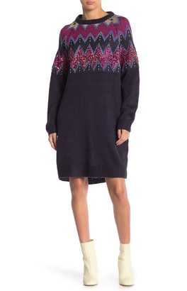 Solutions Sequin Sweater Dress