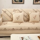 KCHDFBUOQIFG urop And Th Unitd Stats Sofa Pad/Fabrics ,Autumn And Wintr,Simpl,Backrst Towl/Pastoral Pur Color Sofa Towl
