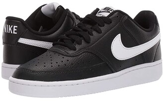 Nike Court Vision Low (Black/White) Women's Shoes