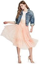 GUESS Belladonna Star Tulle Skirt