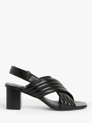 KIN Jaya Cross Strap Leather Sandals