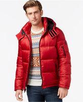 INC International Concepts Hooded Nylon Jacket