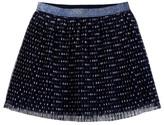 Joe Fresh Pleated Dot Tutu Skirt (Toddler & Little Girls)