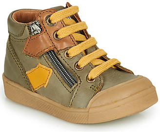 GBB IONNIS boys's Shoes (High-top Trainers) in Green