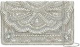 Accessorize Ailsa Embellished Envelope Clutch Bag