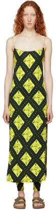 Marc Jacobs Green Redux Grunge Cami Dress