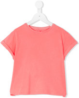 Stella McCartney Plum T-shirt - kids - Cotton - 8 yrs