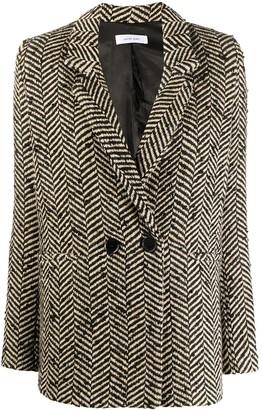 Anine Bing Tweed Blazer Jacket