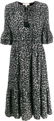 MICHAEL Michael Kors Mega Cheetah dress