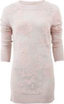 Ermanno Scervino Rose Print Sweater