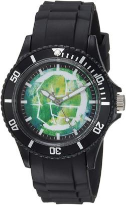 Marvel Men's Classic Analog-Quartz Watch with Plastic Strap