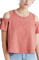 Madewell Women's Skylark Cold Shoulder Top