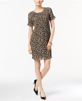 MICHAEL Michael Kors Printed Pleated Dress