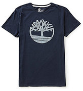 Timberland Kennebec River Pattern Tree Graphic Short-Sleeve Tee