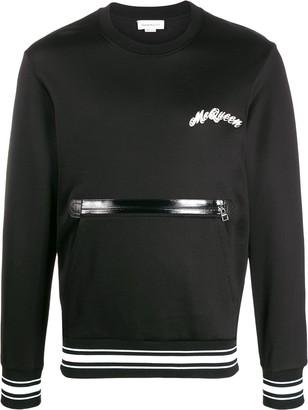 Alexander McQueen Zip Pocket Sweatshirt